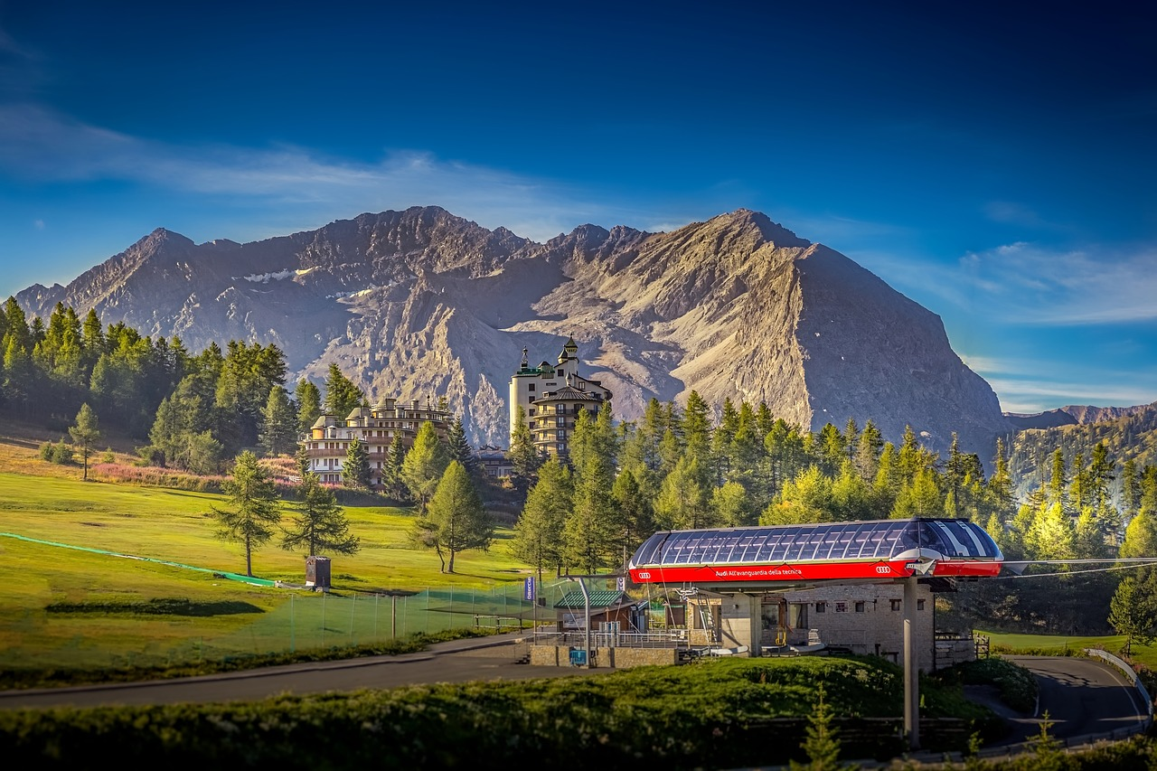 Sestriere in Summer