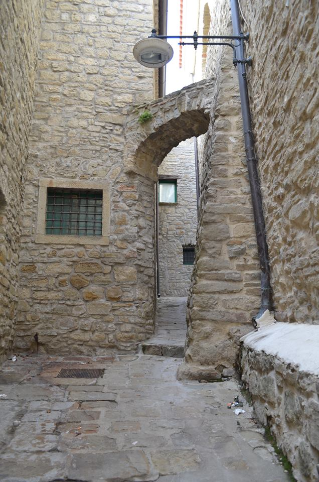 Castelmezzano Streets