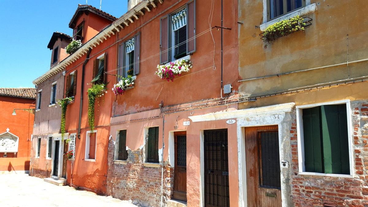 San Pietro, Venice - street scene
