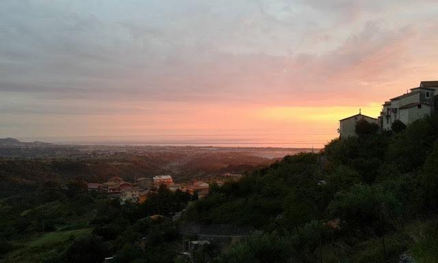 Sunset, Calabria