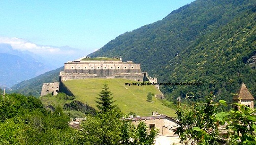 Val di Susa Castle of Exilles
