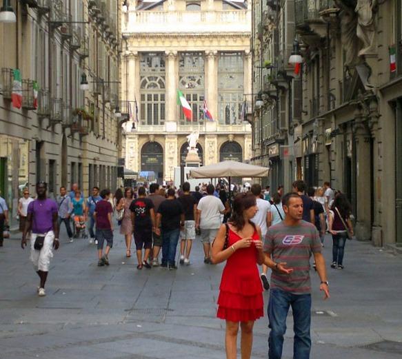 Via Garibaldi Torino