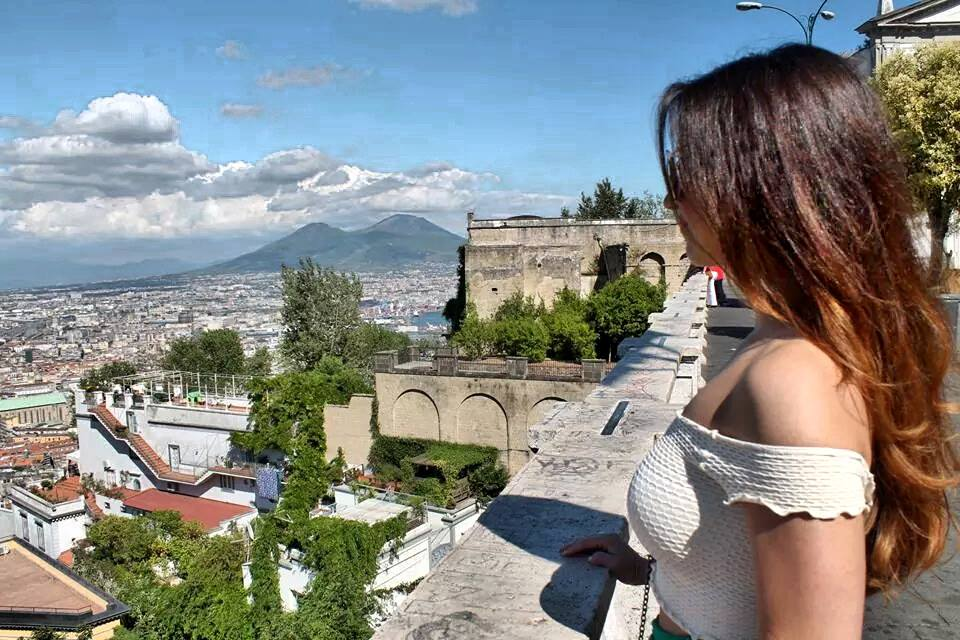 View of Naples Italy