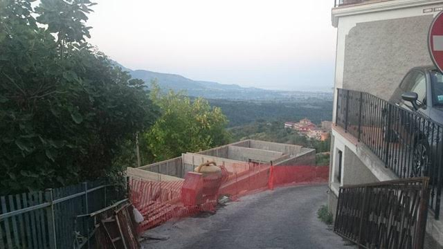 Sea views from my house in Calabria