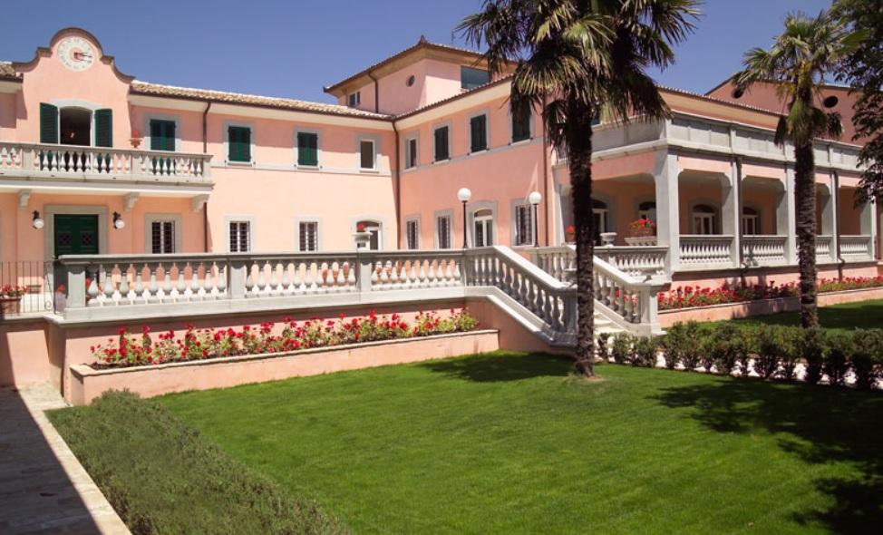 Villa Zuccari, Montefalco, Umbria