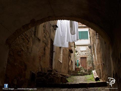 Washday in Montalcino