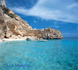 Sardinia by Boat Cala Mariolu