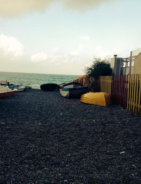 Boats on the Beach - Scalea, Calabria