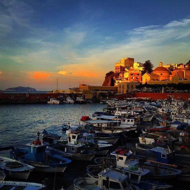The Marina on Ponza