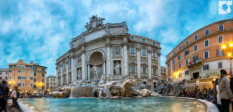 Trevi Fountain at Dawn