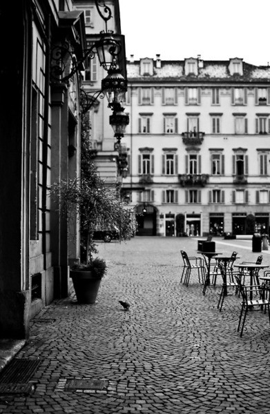 Turin in Black and White