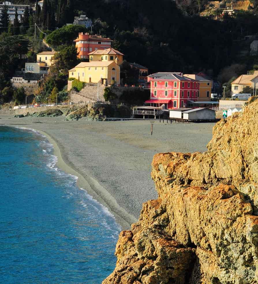 Bonassola Beach by Alessandro Cinque