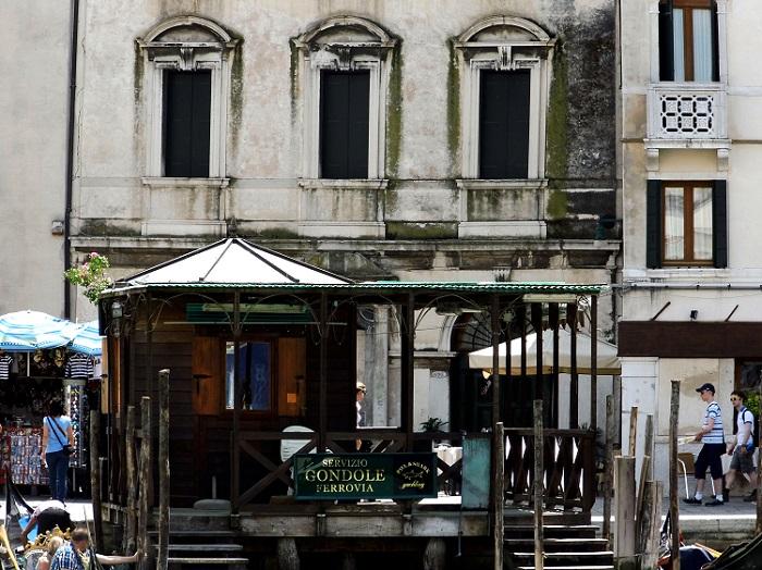 Boat Station in Venice