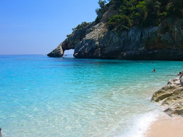 Cala Goloritze beach Sardinia Italy by Sara Pizzagalli