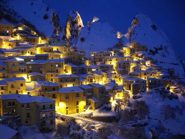Castelmezzano in Winter