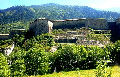 Castle of Exilles
