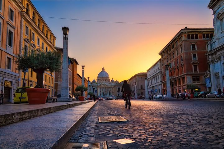 Cobbled Streets of Rome