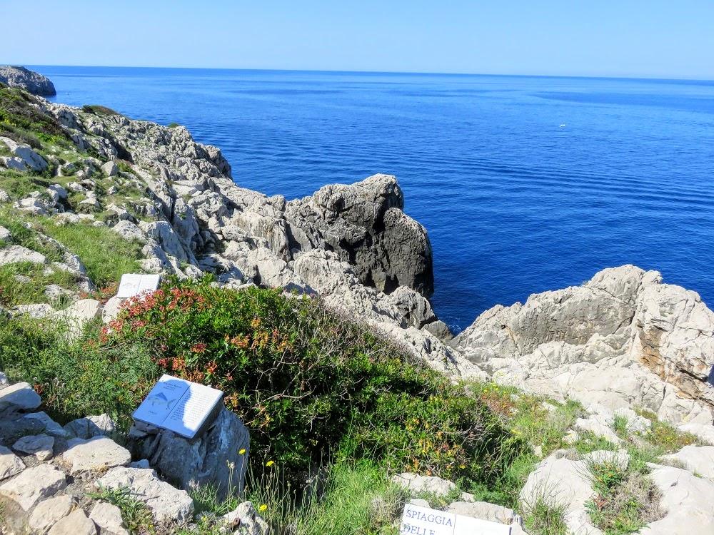 View along the Sentiero dei Fortini