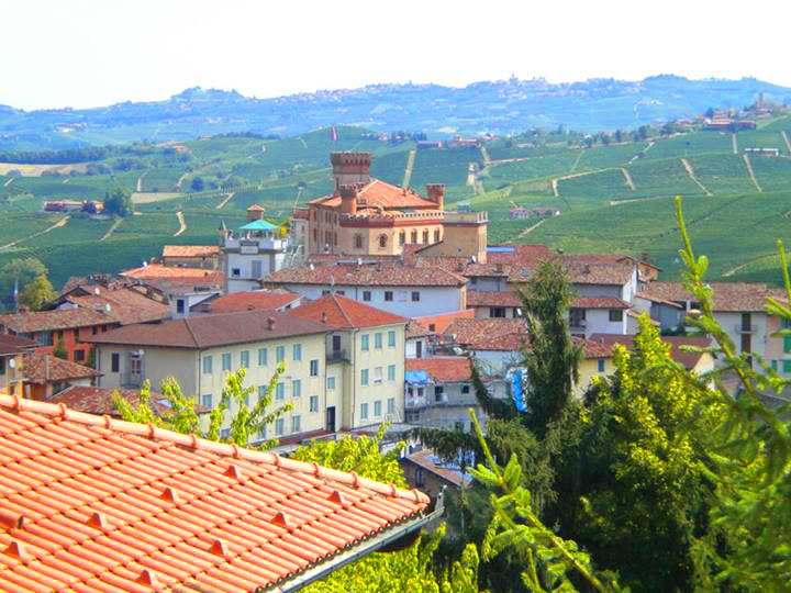 Barolo in the Langhe wine region of Piedmont.