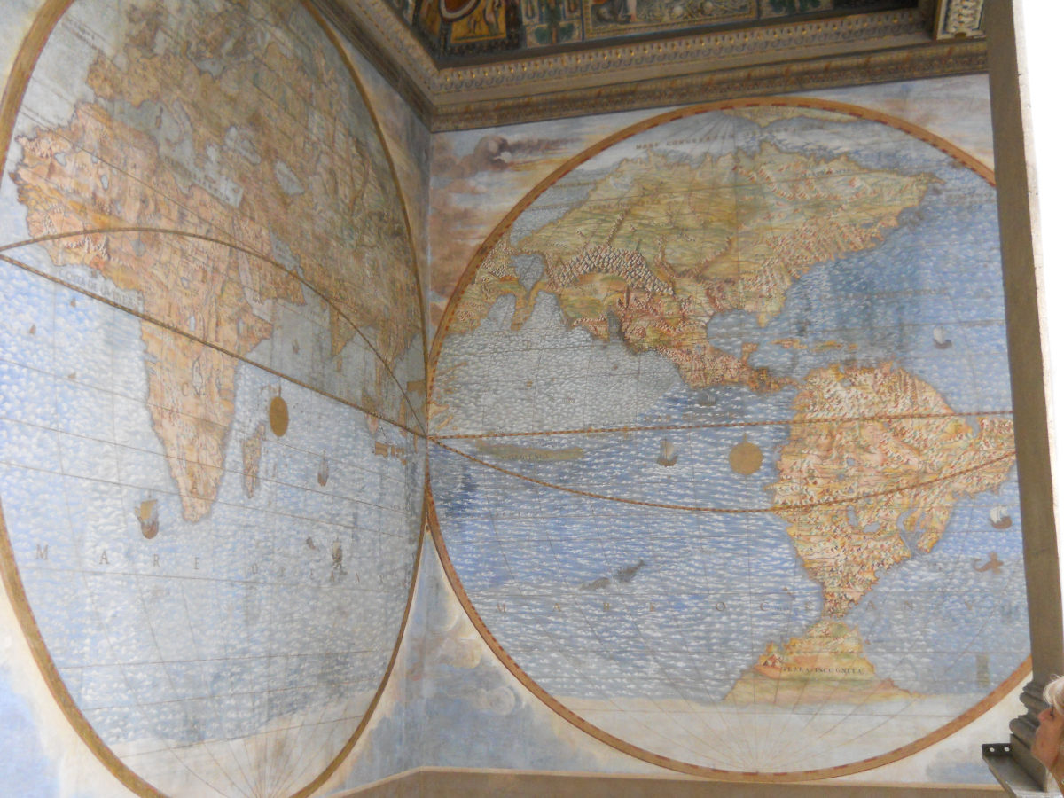 Map of the World, Vatican