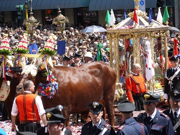 Traditional Sardinian Festival