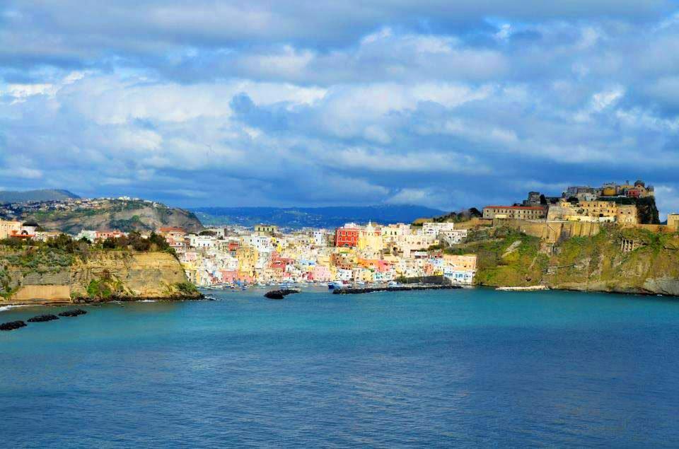 Gulf of Naples and Procida Island
