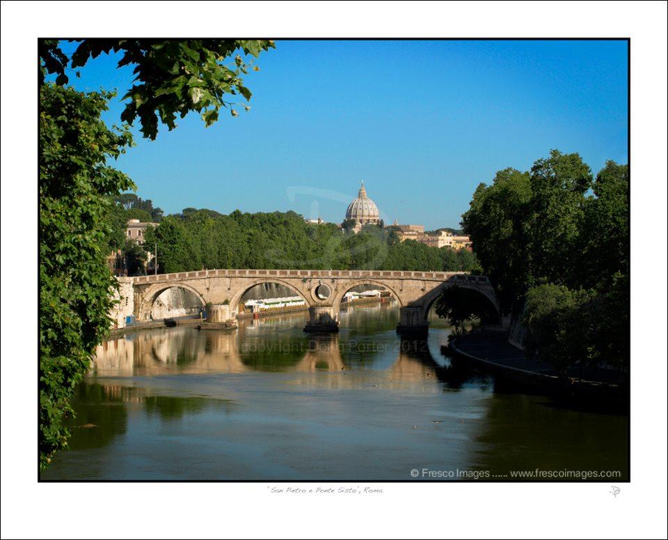 San Pietro and Ponte Sisto.