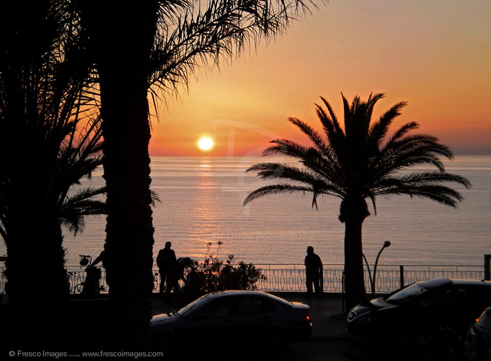 Sunset Gioiosa Marea Sicily