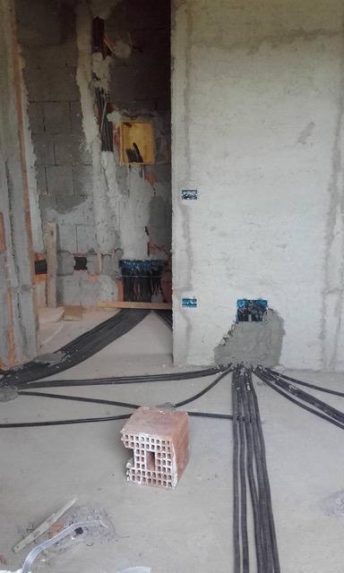 House Construction, Calabria Italy