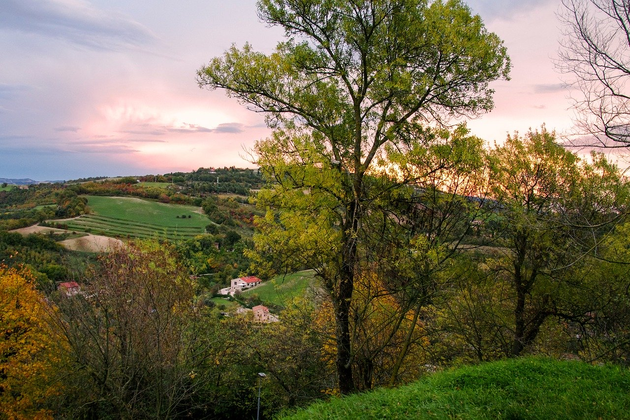 Countryside in Le Marche