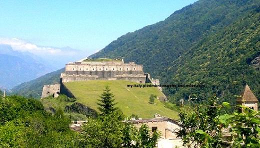 Val di Susa Castle of Exilles