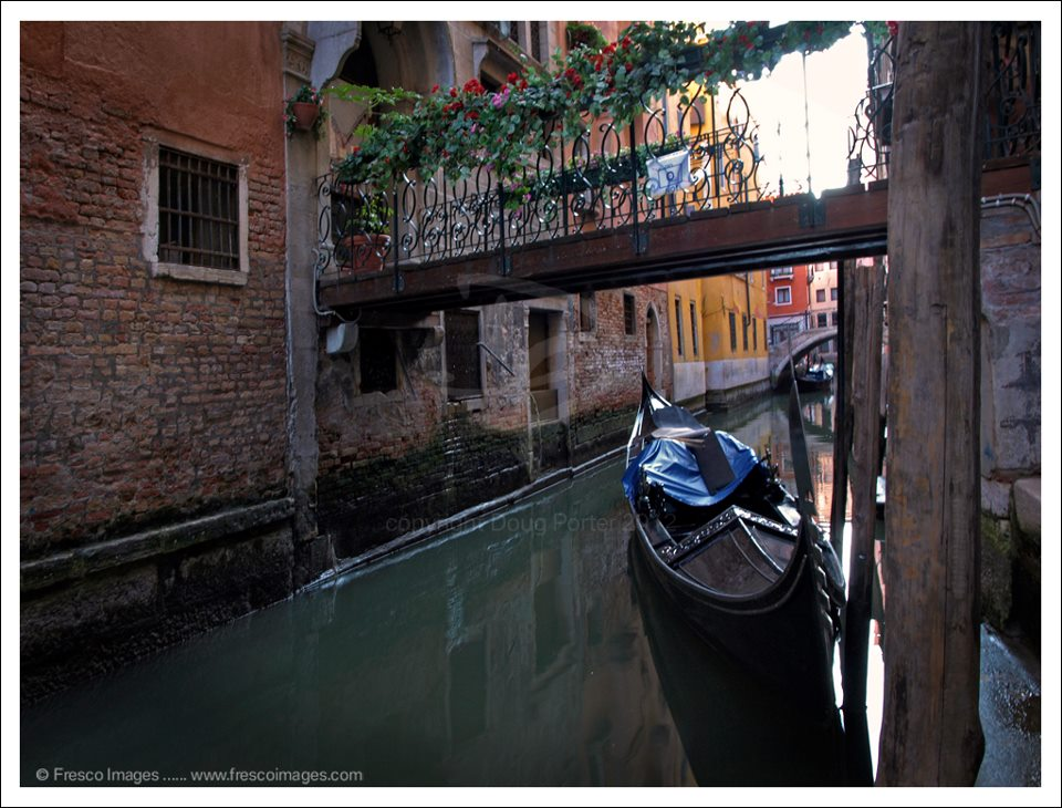 Venice small canals