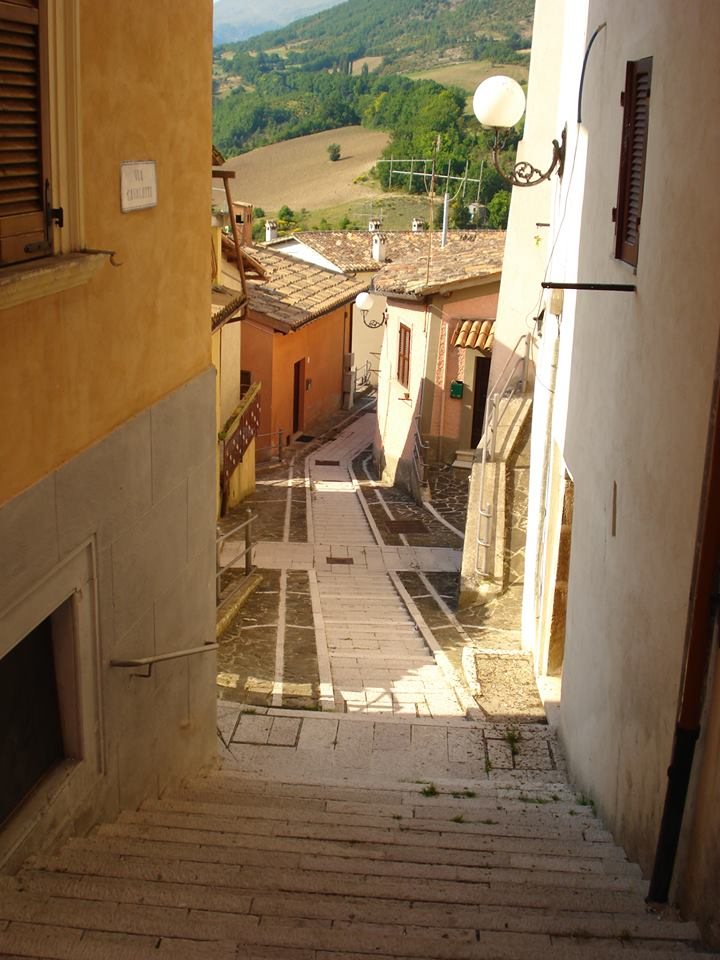 Town in Marche Italy